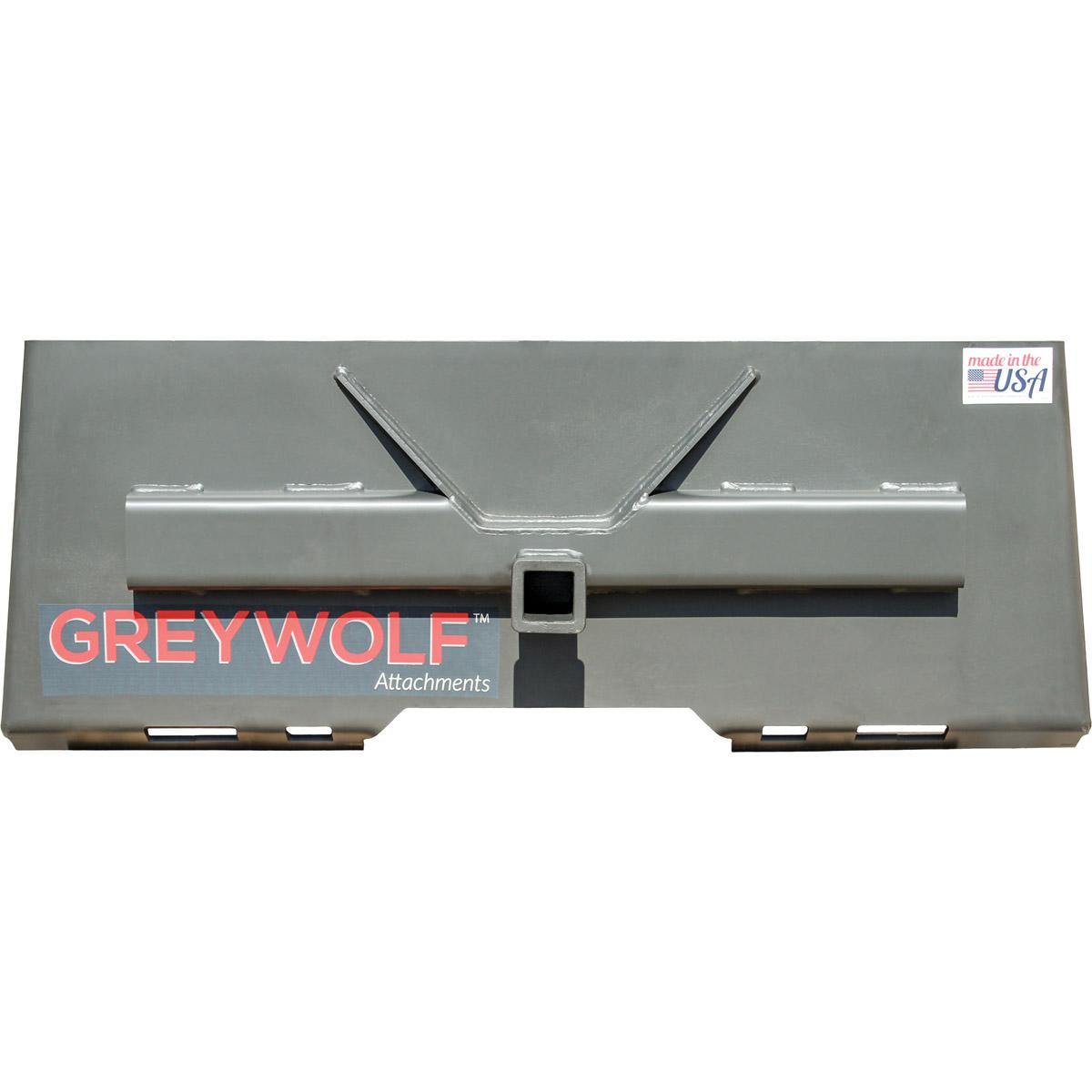 "GreyWolf 2"" Receiver Hitch Skid Steer Attachment"