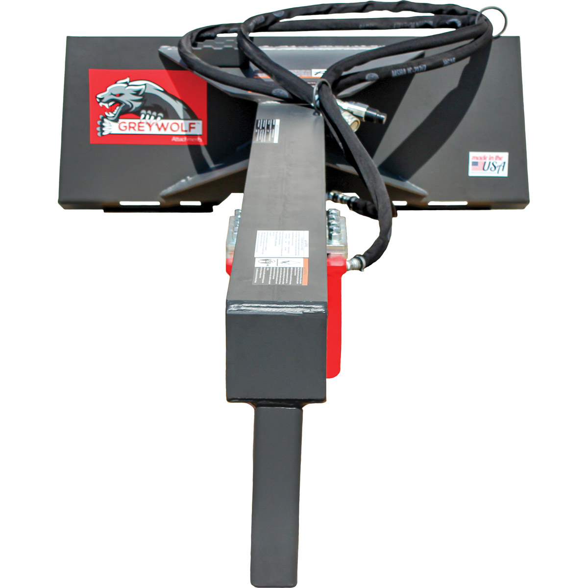 GreyWolf 24 Ton Log Splitter Skid Steer Attachment