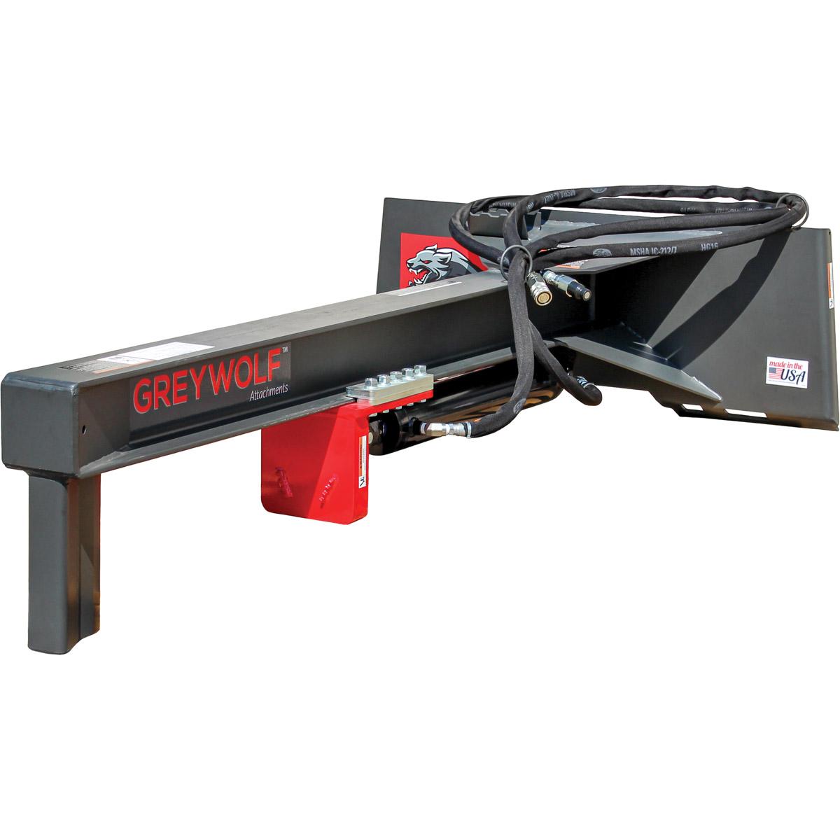 24 Log Splitter Skid Steer Attachment