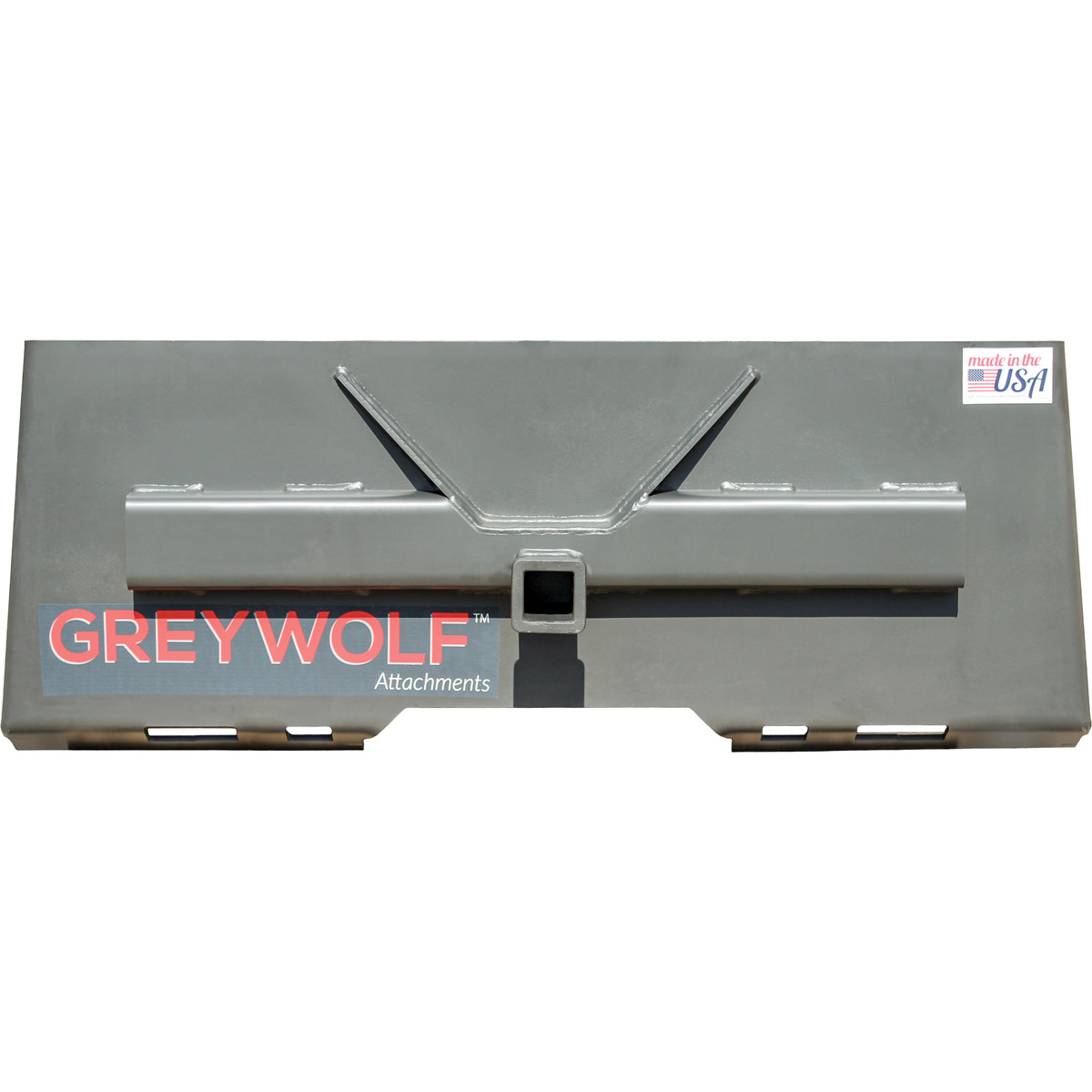 "GreyWolf 2"" Receiver Hitch Skid Steer Attachment"