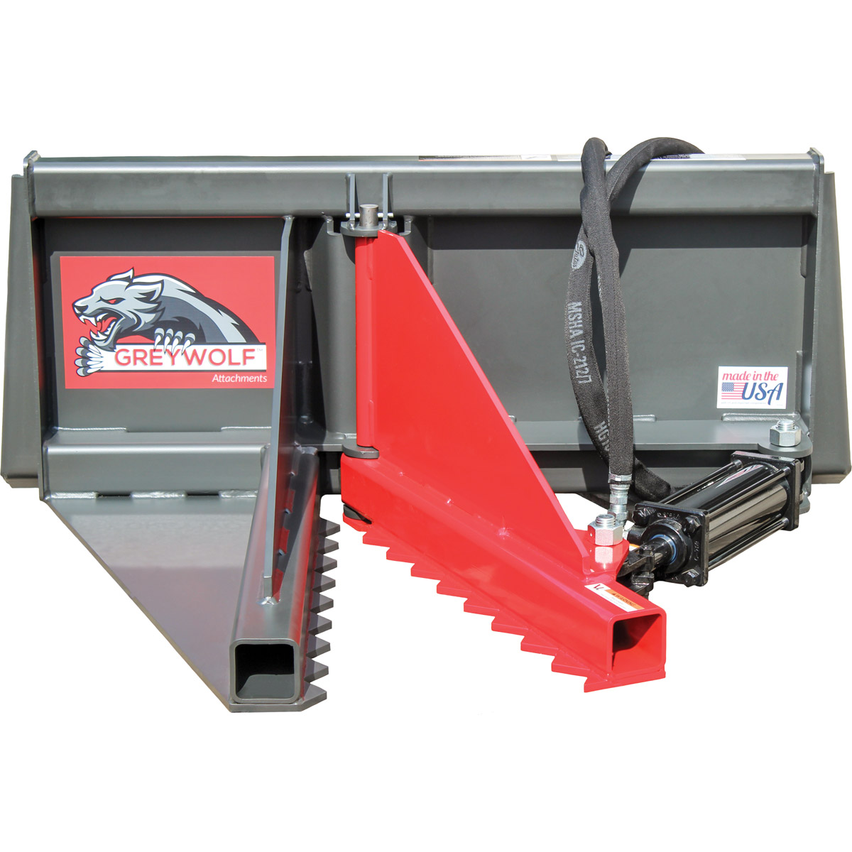 GreyWolf Tree Puller Skid Steer Attachment